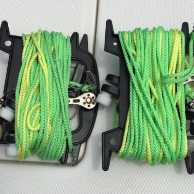 outrigger line winder pulley